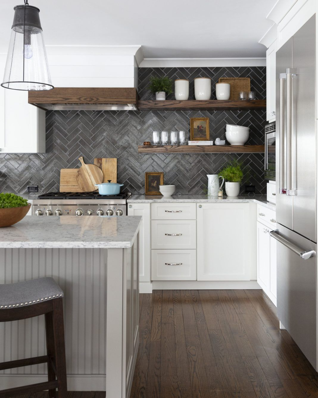 4 Elements Could Bring Out Traditional Kitchen Designs: Geometric Patterns: Bringing A Timeless Trend Into 2019