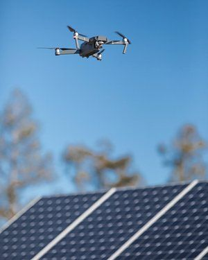 How Drones Are Helping Design The Solar Power Plants Of The Future Solar Power Solar Solar Energy Panels