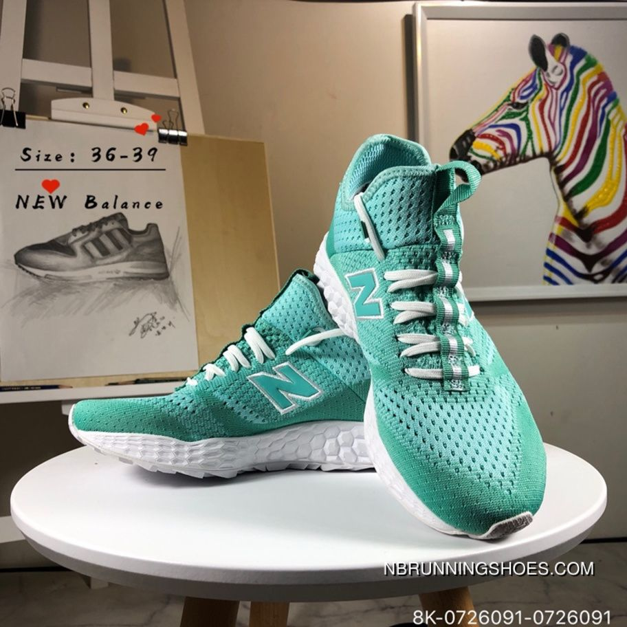 36275c490ad55 Balance MLFT BMGN 0726091 Athletic Running Shoes Blue Green White New  Release Blue Shoes