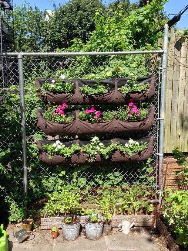 20 Ideas Sorprendentes Para Hacer Jardines Verticales En Casa - Ideas-para-hacer-un-jardin