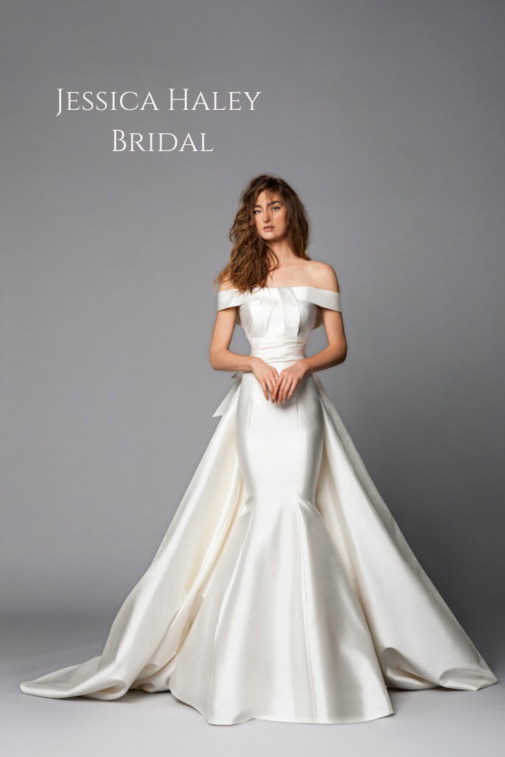 Wedding Dress Shopping In Nyc Look No Further Jessica Haley Bridal A Bridal Boutique Located Just Nort Bridal Dresses Wedding Dresses Wedding Dresses Simple