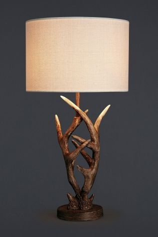Etonnant Wildlife Lover At Heart? This Antler Table Lamp Is A Quirky Addition To  Anyoneu0027s Home.