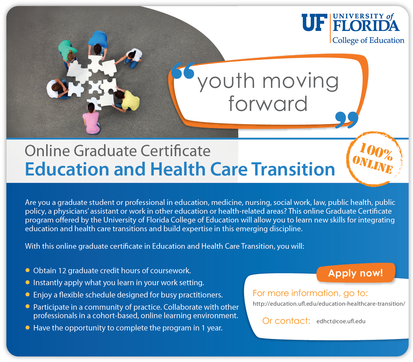 Earn An Online Graduate Certificate In Education And Health Care