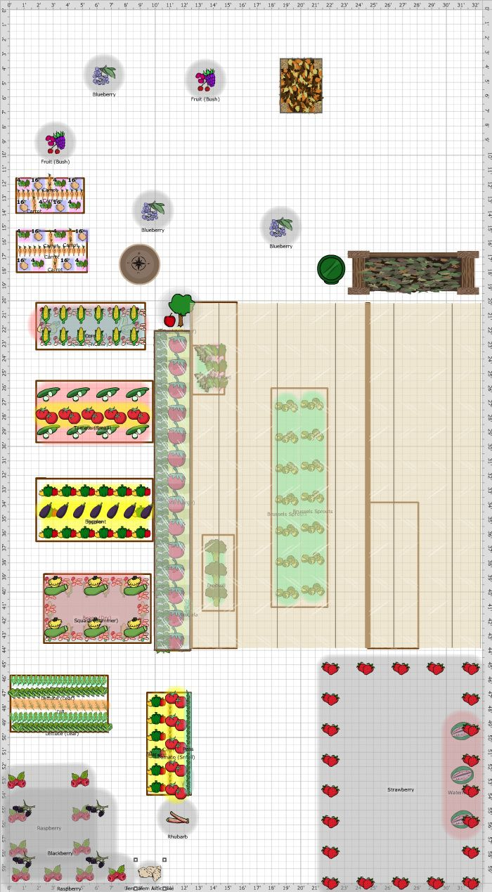 Garden Plan - 2017: Climber\'s Co-op | Marquette michigan, Sandy soil ...