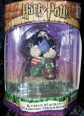 Rubeus Hagrid Harry Potter Hanging Ornament Enesco Unopened 2001 #harrypotter #potterhead #collectibles #hogwarts
