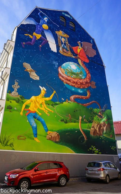 Street Art In Kiev - A Guide - Backpackingman