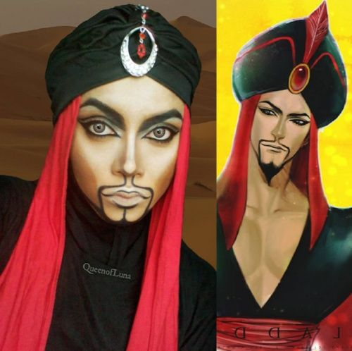 This Makeup Artist Uses Her Hijab To Transform Herself Into Disney - Makeup artist uses hijab to transform herself into disney characters