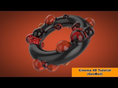 Geoboil-Picture without plugins (Cinema 4D Tutorial) - YouTube