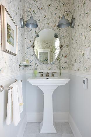 Get Inspired Sarah Richardson Design Tiny Powder Rooms Powder Room Design Powder Room Small