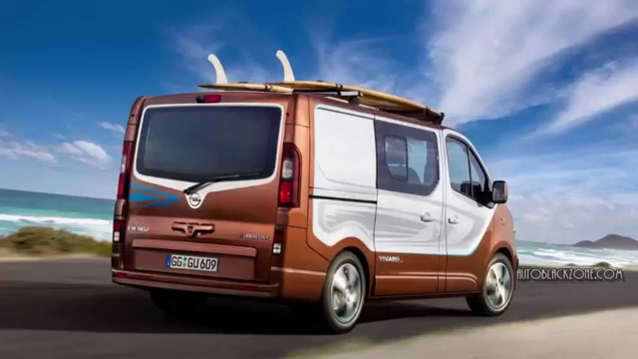2015 Opel Vivaro Surf Concept New Generation Vehicle Review Opel