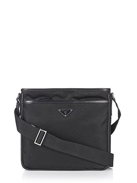 1b4e04fff23033 ... sweden prada mens nylon crossbody messenger bag black 91bdf a32d5