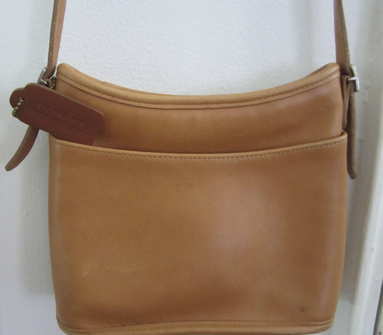 8599130544d Coach Bag Carmel Tan Coach Crossbody Bag Pouch Wristlet Original Designer  Messenger HandBag Boho Hobo Leather Bag Purse Daily Bag