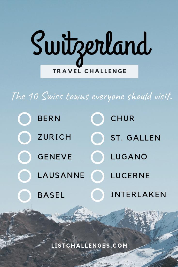 Switzerland Towns