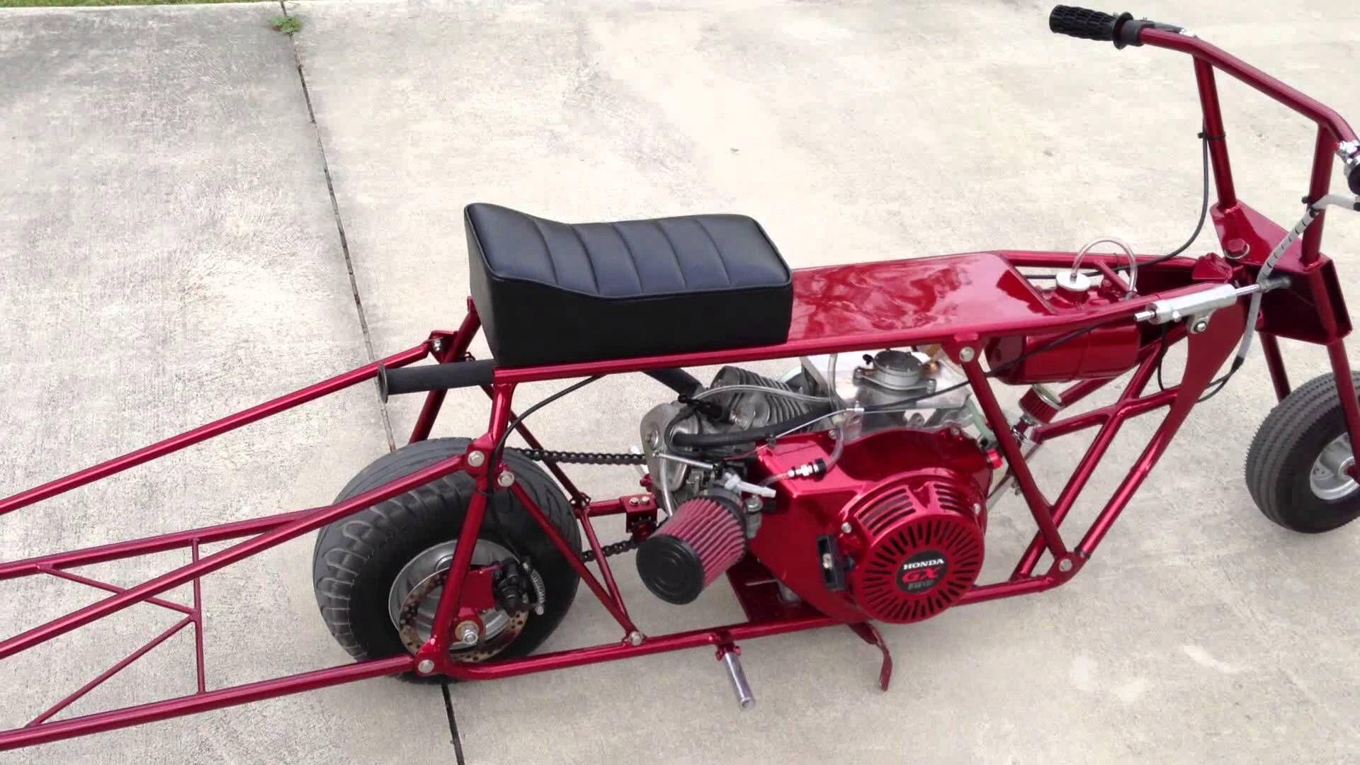 Mini Bike Accessories : Drag mini bike go karts bikes little buggys