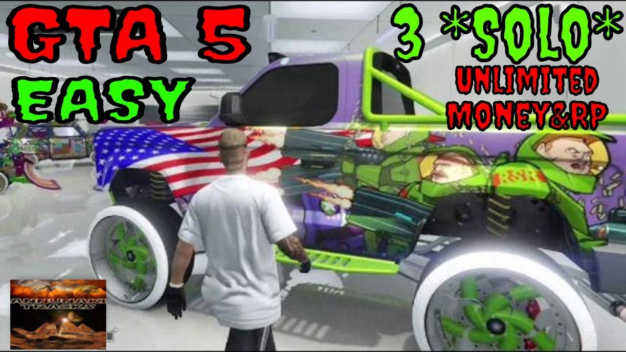 3 Unlimited Solo GTA5 Online Money & RP Glitches STILL