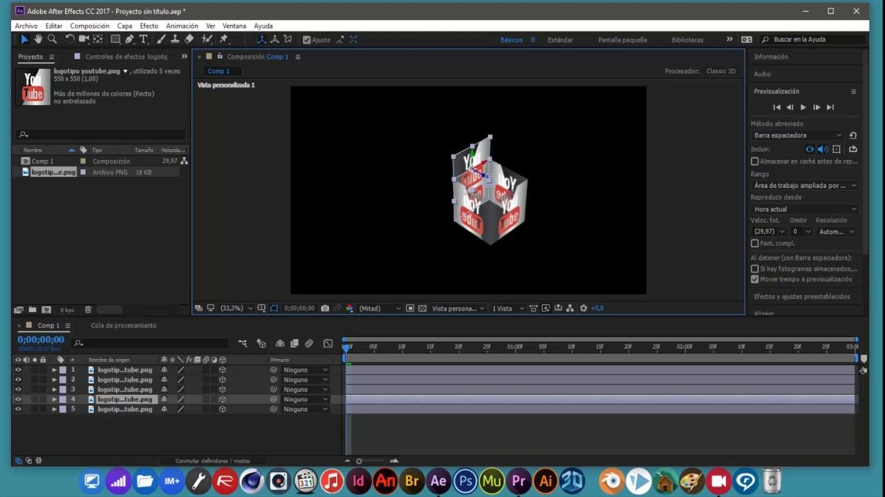 After Effects Cubo 3d Tutorial