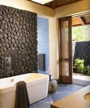 Pin By Citrus Refreshing Bathroom Ide On Sweet Home Stone Bathroom Tropical Bathroom Natural Stone Bathroom