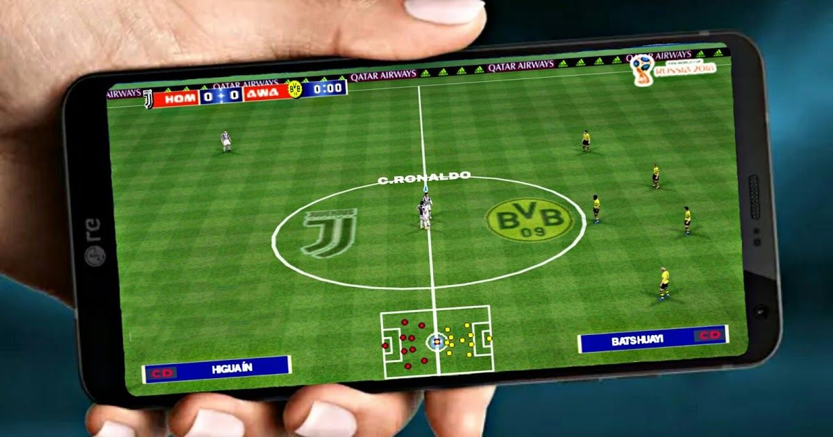 Download PES 2019 Officiel Best Graphics HD Android/PPSSPP
