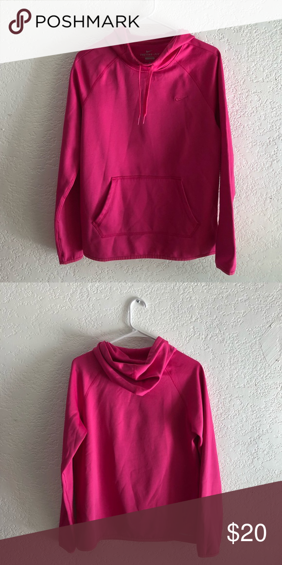 Nike Női · Kapucnis Pulcsik · Nike Therma Fit Hoodie Pink cowl neck hoodie  Thumb holes on the sleeves Excellent condition Nike 5ca0273033