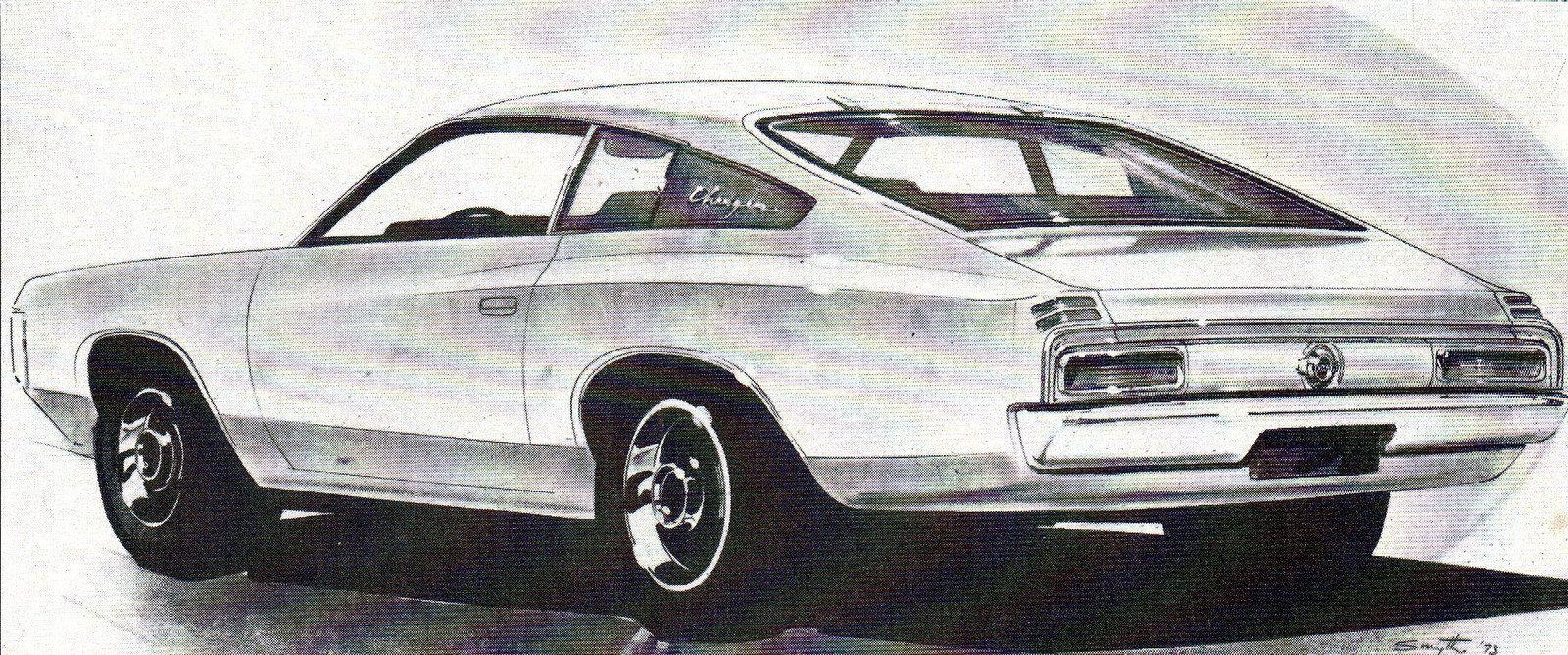 Chrysler Australia Valiants That Never Were 1973 Charger Hatchback