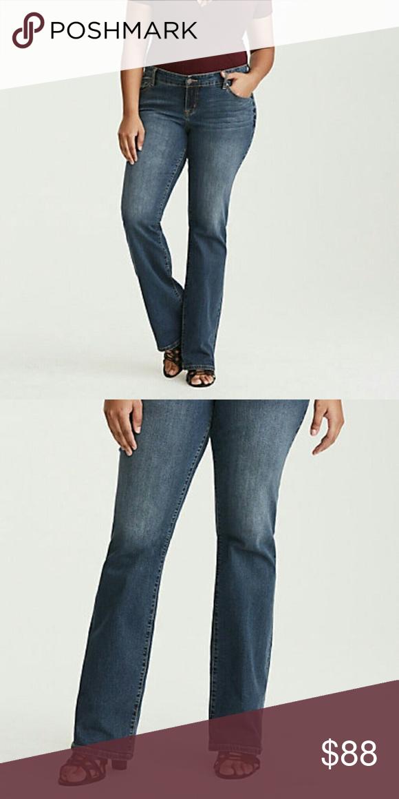 20cdaa18682 Torrid relaxed boot jeans plus size 28 women Torrid relaxed boot jeans  plus size 28