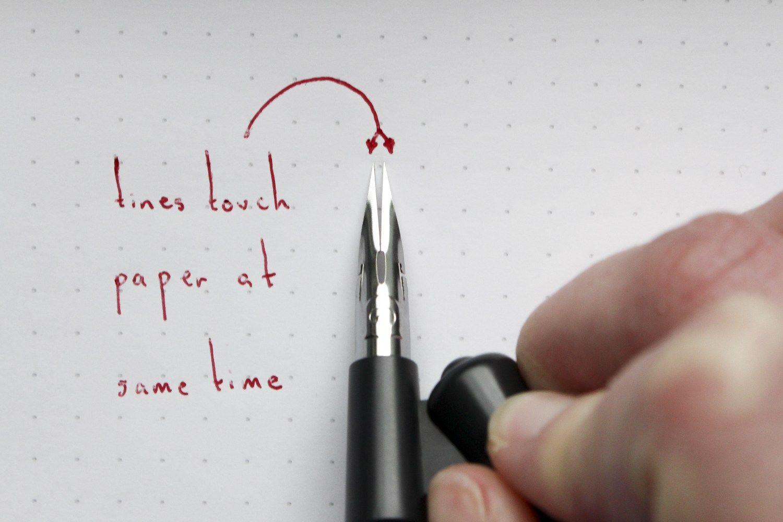 Modern calligraphy basics holding the pen basic strokes