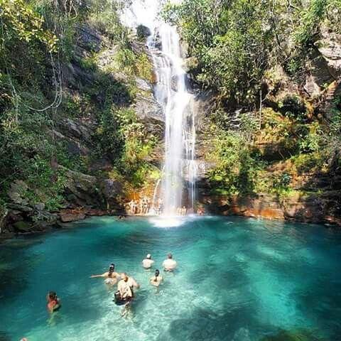 Cachoeira Santa Barbara, Chapada dos Veadeiros (GOIÁS)!!!  :-)