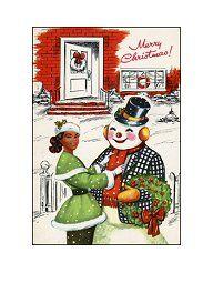 African American Christmas Ad | Vintage Christmas | Pinterest ...