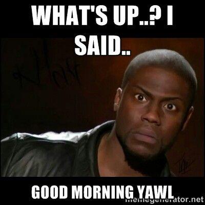 Pin By Mtvibes Media On Good Morning Meme Funny Memes Kevin Hart Laughing So Hard Sarcasm Humor