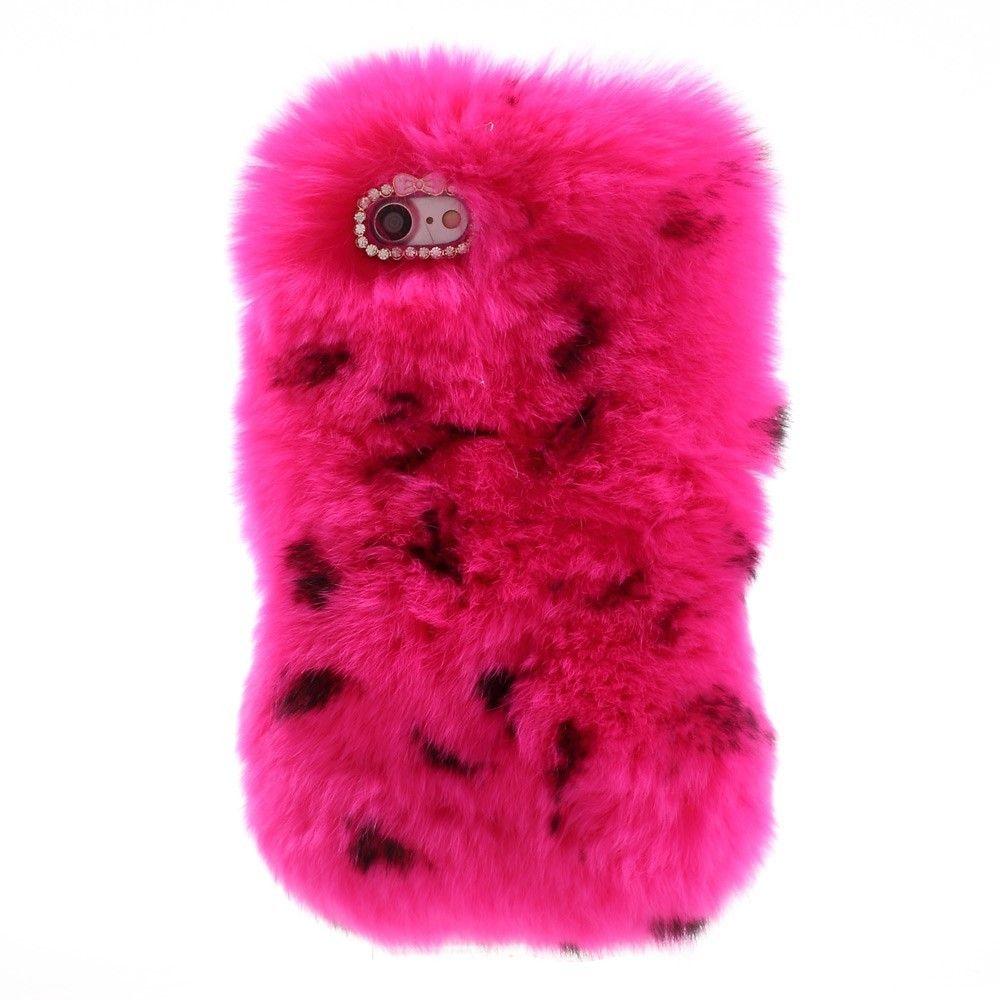 coque fourrure iphone 8