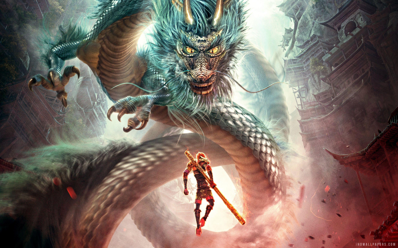 Monkey Kubo And The Two Strings Wallpaper Monkey King Dragon