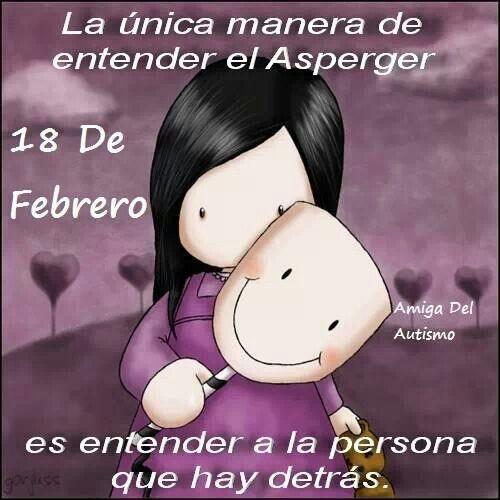 18 de febrero. Día mundial del síndrome ásperger.