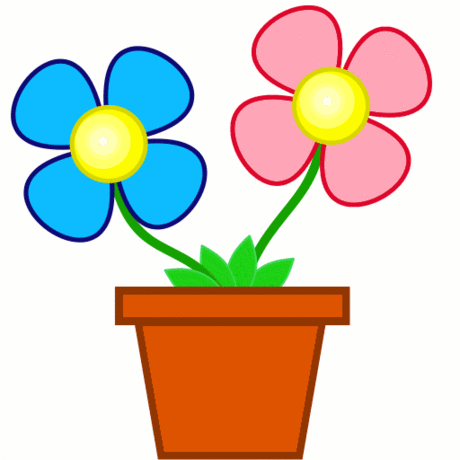 clipart spring flowers clipart panda free clipart images rh pinterest ca free clip art images spring flowers free clip art spring flower borders