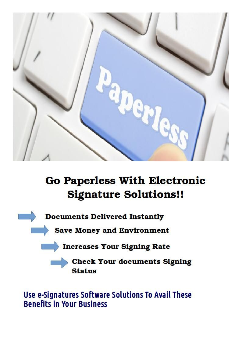 the esign is one of the most easiest way to sign and send important