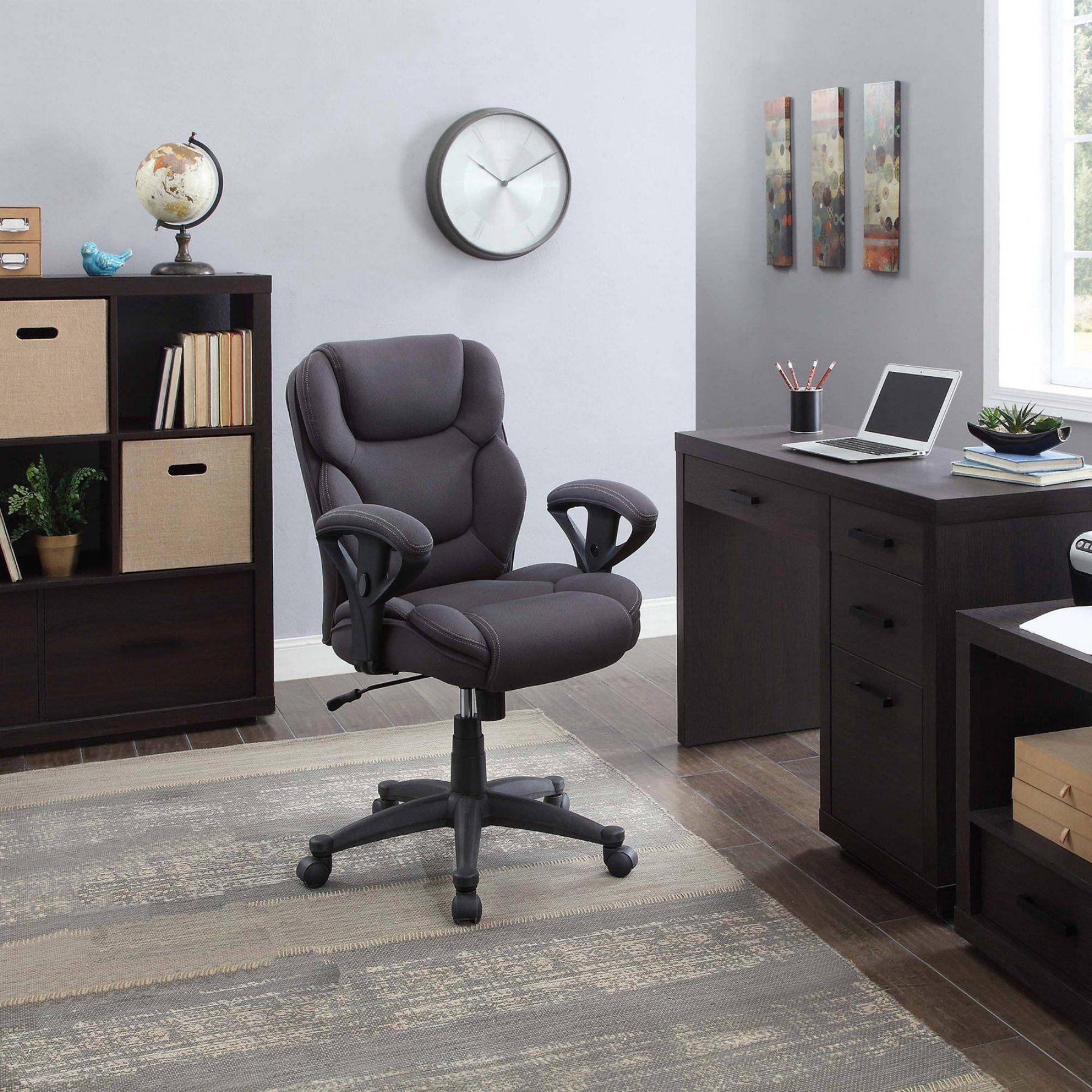 Best Serta Mesh Fabric Big And Tall Manager Chair Gray 400 x 300