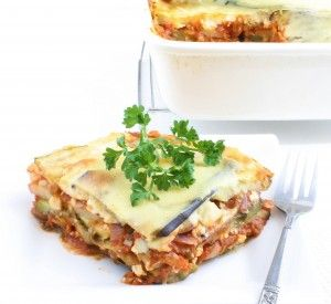 wont miss the meat? we shall see... Vegetarian Moussaka