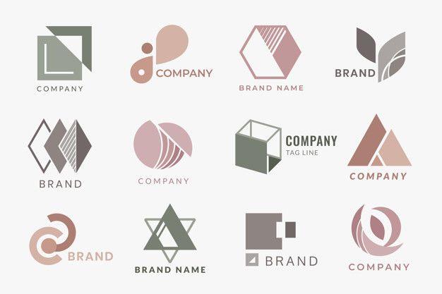 Diseños de logotipo corporativo vector g  Free Vector