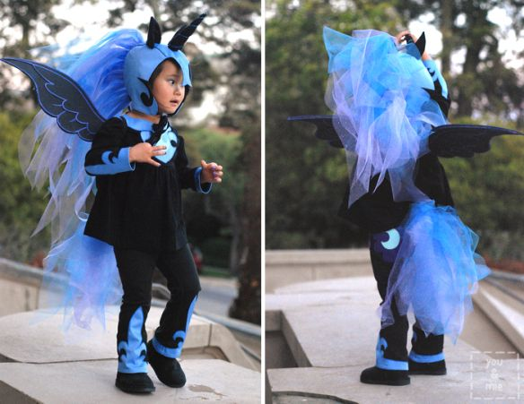Nightmare Moon Costume by you  mie COSTUME  KIDS FACE PAINTING - halloween costume ideas 2016 kids