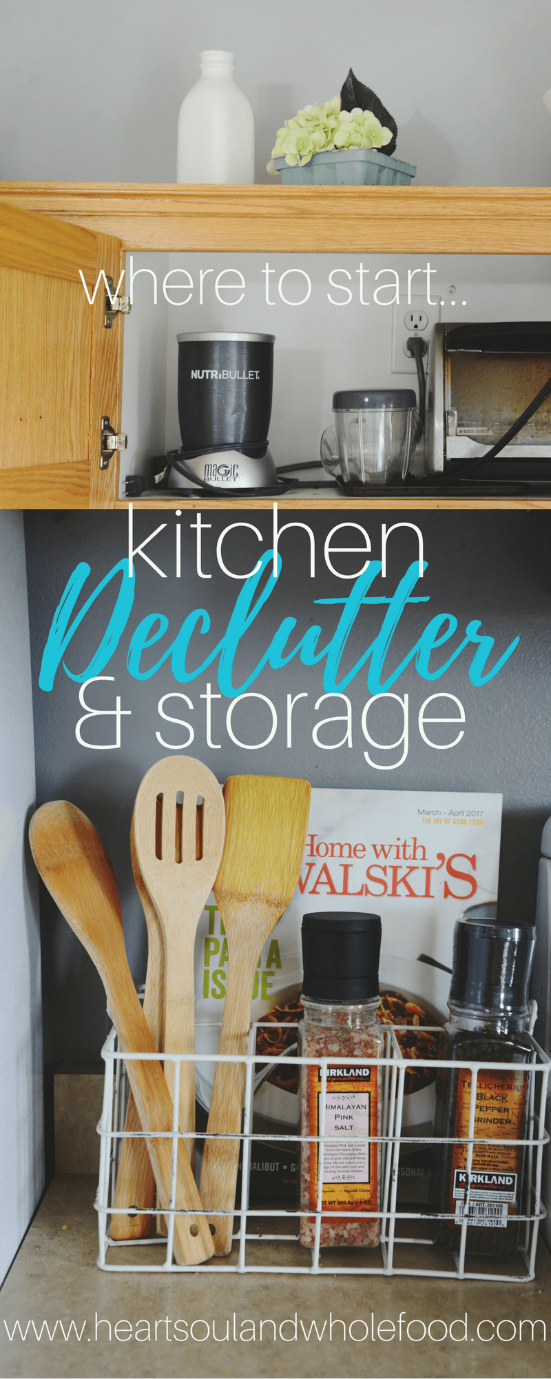 Kitchen Declutter and Storage Solutions | Pantry organisation ...