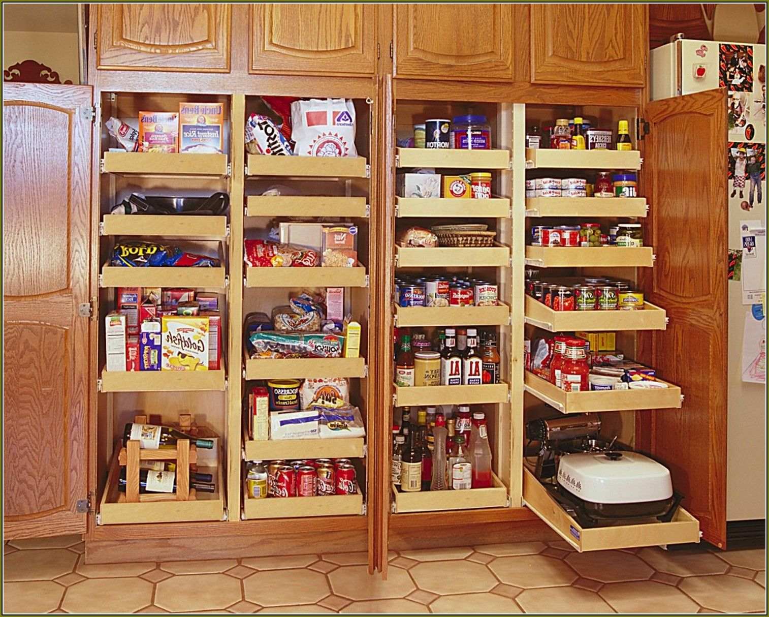 Pantry Cabinet: Pantry Cabinet Dimensions With Kitchen Cabinets .