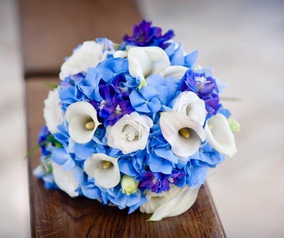 Pozytywne Inspiracje Slubne Niebieski Blue Bouquet Bridal Bouquet White Wedding Bouquets