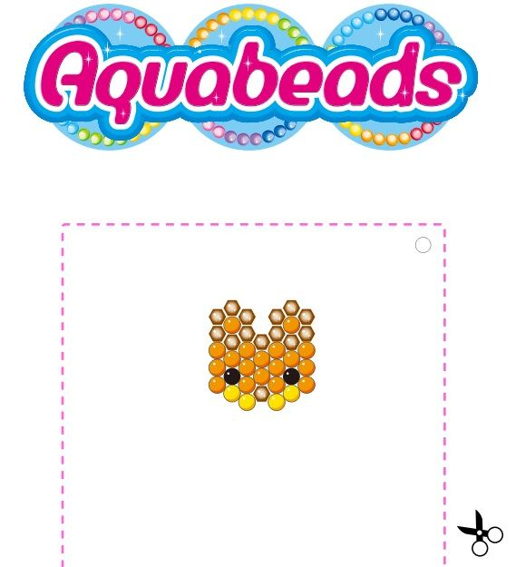 Walnut Squirrel Aquabeads Template Aquabeads Pinterest - Aquabeads templates