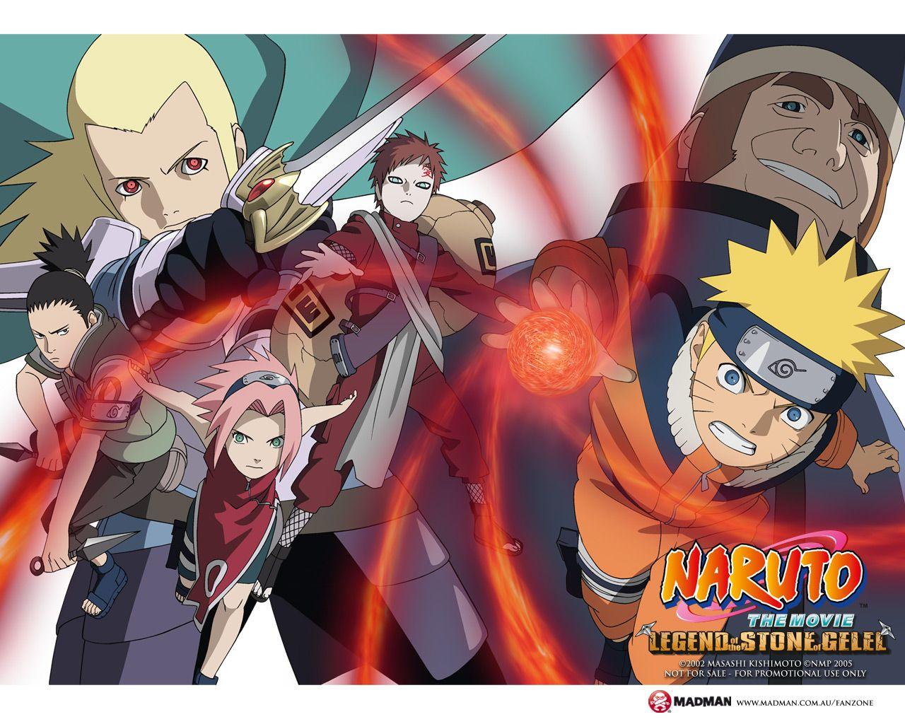 ナルト 壁紙 Naruto Wallpaper Naruto The Movie Anime Naruto Movie 2