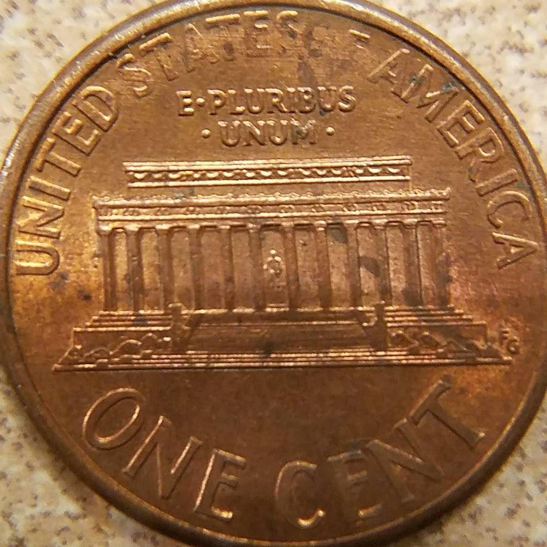 1993 D U S VDB Lincoln Penny #coin #coins #silvercoin
