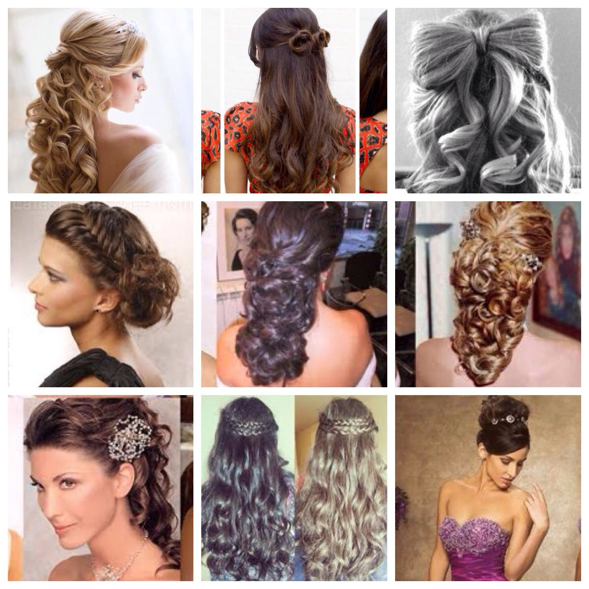 quinceanera hairstyles with curls and tiara ~ hair is our crown