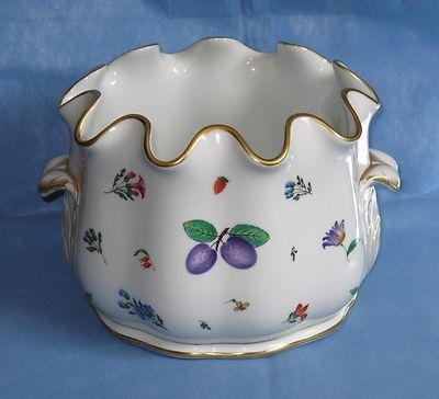 Vintage Richard Ginori Pittoria Large Bowl Tureen Floral Fruit ...