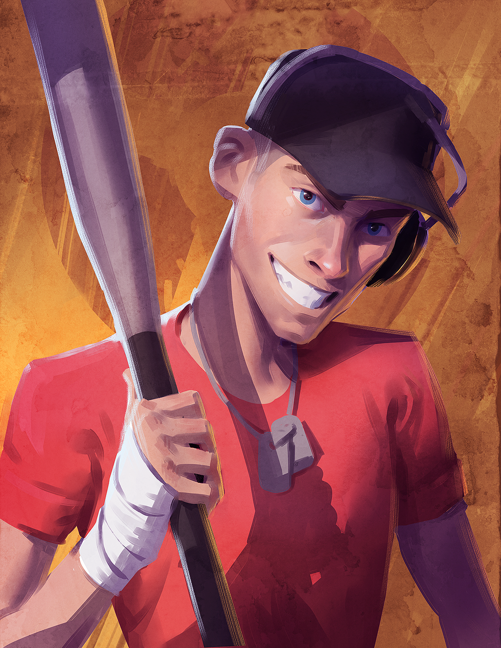 Tf2 Scout By Makkon On Deviantart Tf2 Scout Team Fortress 2 Team Fortess 2