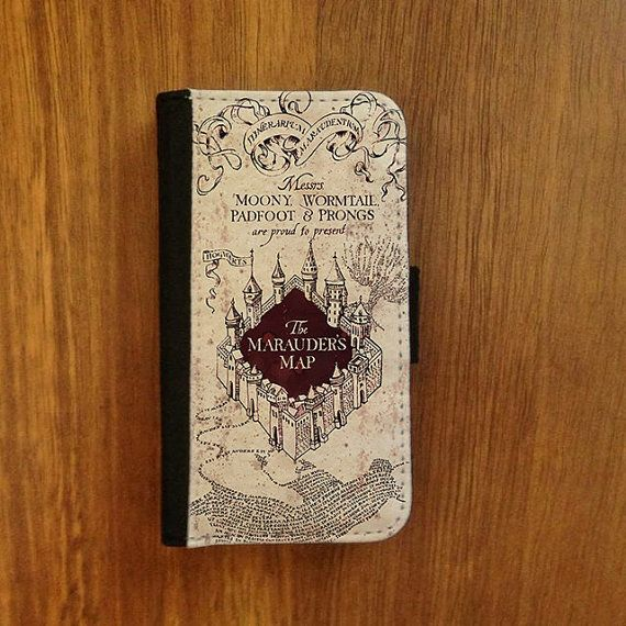 Harry Potter Book Cover Phone Case : S flip case harry potter iphone or samsung galaxy