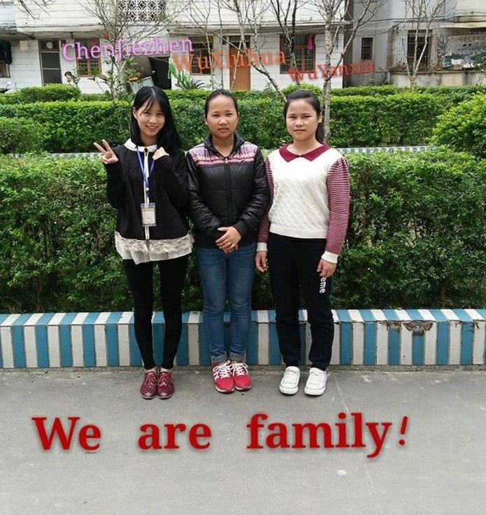 3 Zhanghuang students