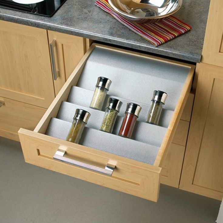 Inside Kitchen Cupboards Drawer Organizers And Drawer Trays From Laurysen Kitchens